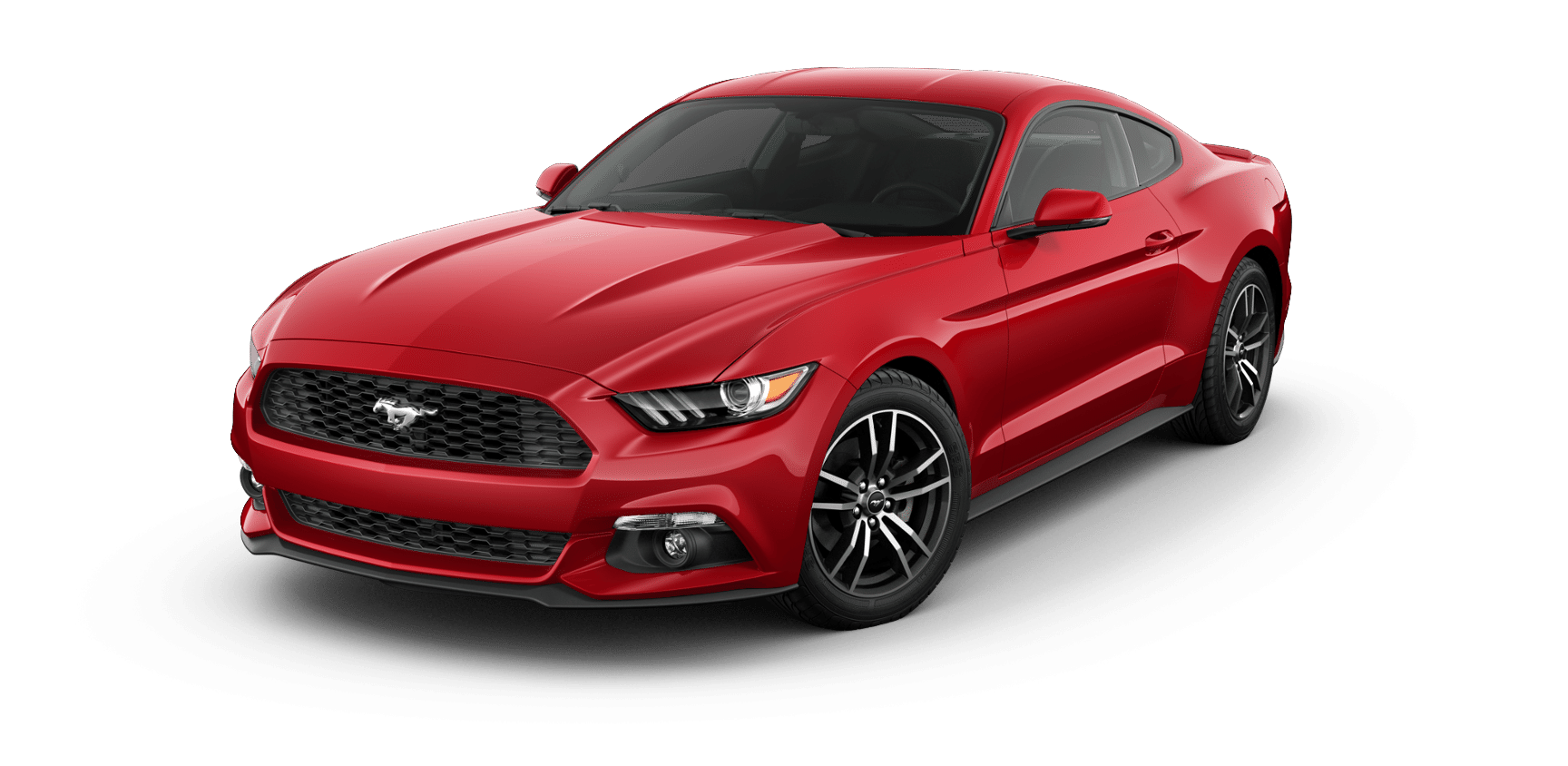 Red Ford Mustang - 2018