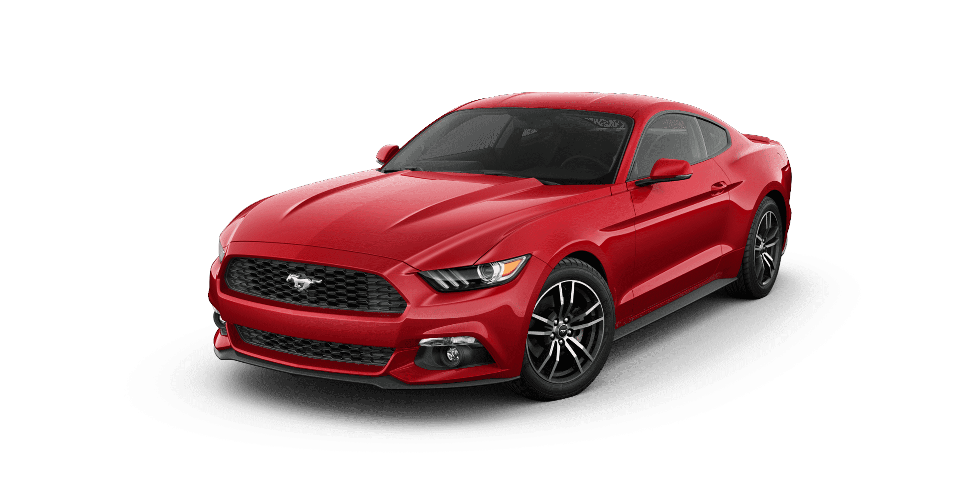 Red Ford Mustang 2018