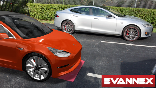 photo image Tesla Model 3 Ready To Race Tesla Model S … & Rumbling? (Video Fun)