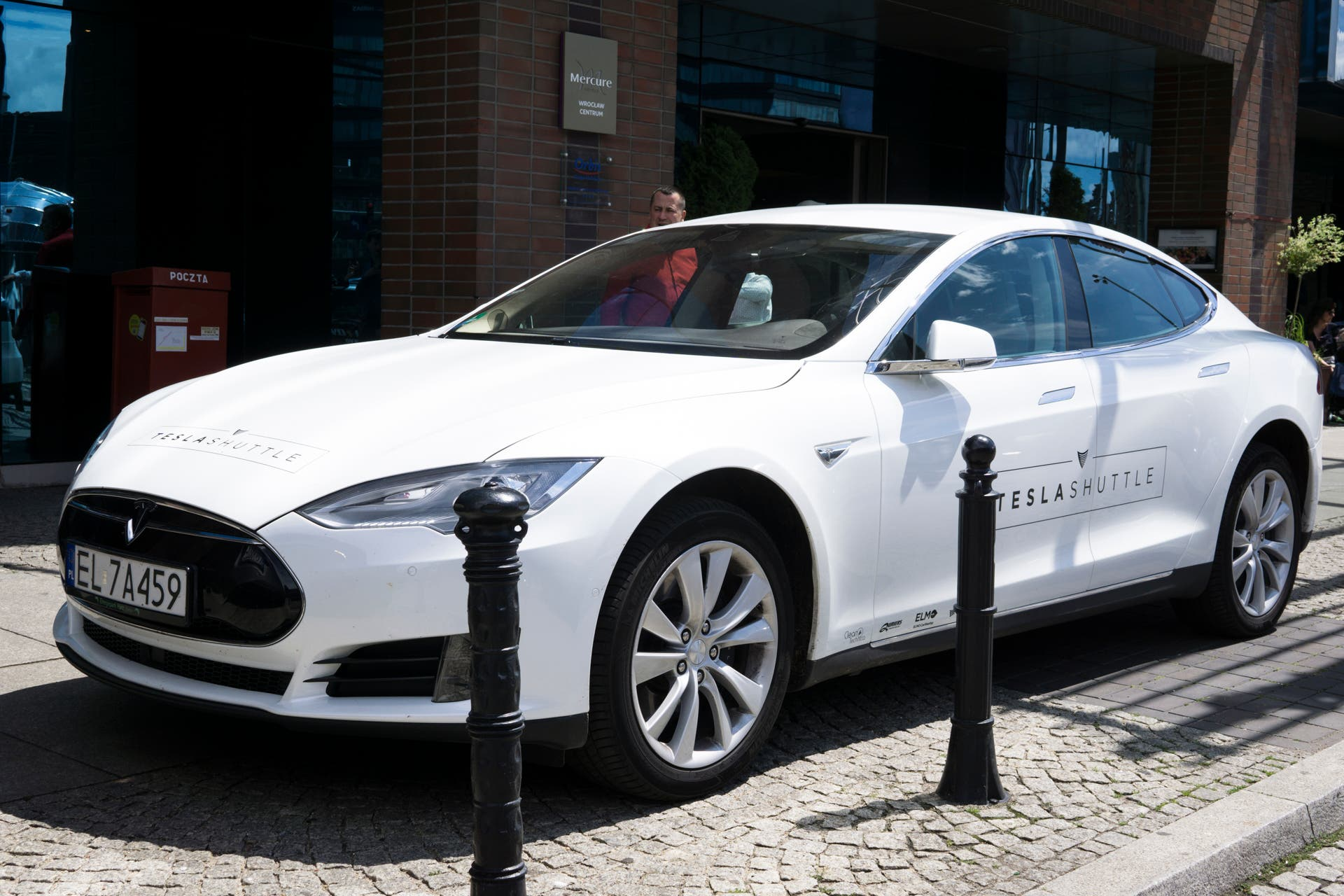 Prepping For World Electric Car Tesla Distance Record Attempt