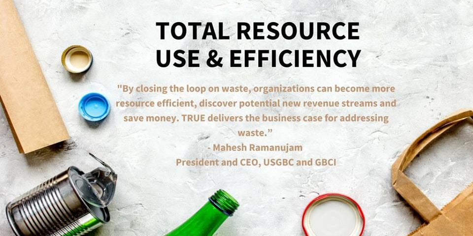 7c1410e3593b TRUE is administered by GBCI and serves as a compliment to the LEED green  building rating system created by the U.S. Green Building Council (USGBC).