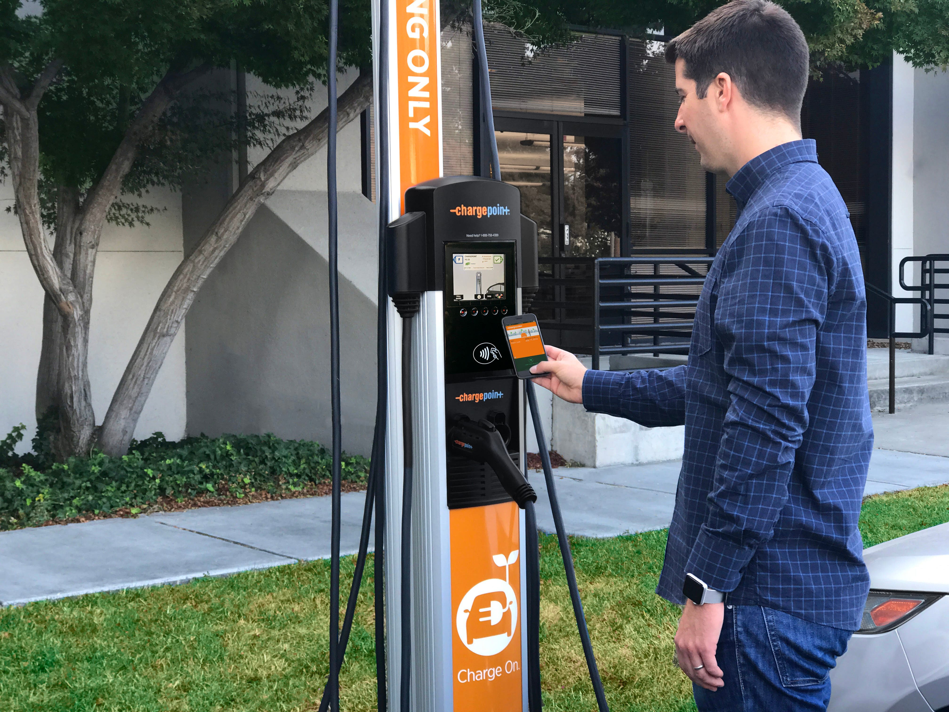 Chargepoint Customers Can Now Start Charging With Just A Smartphone Or Smarch