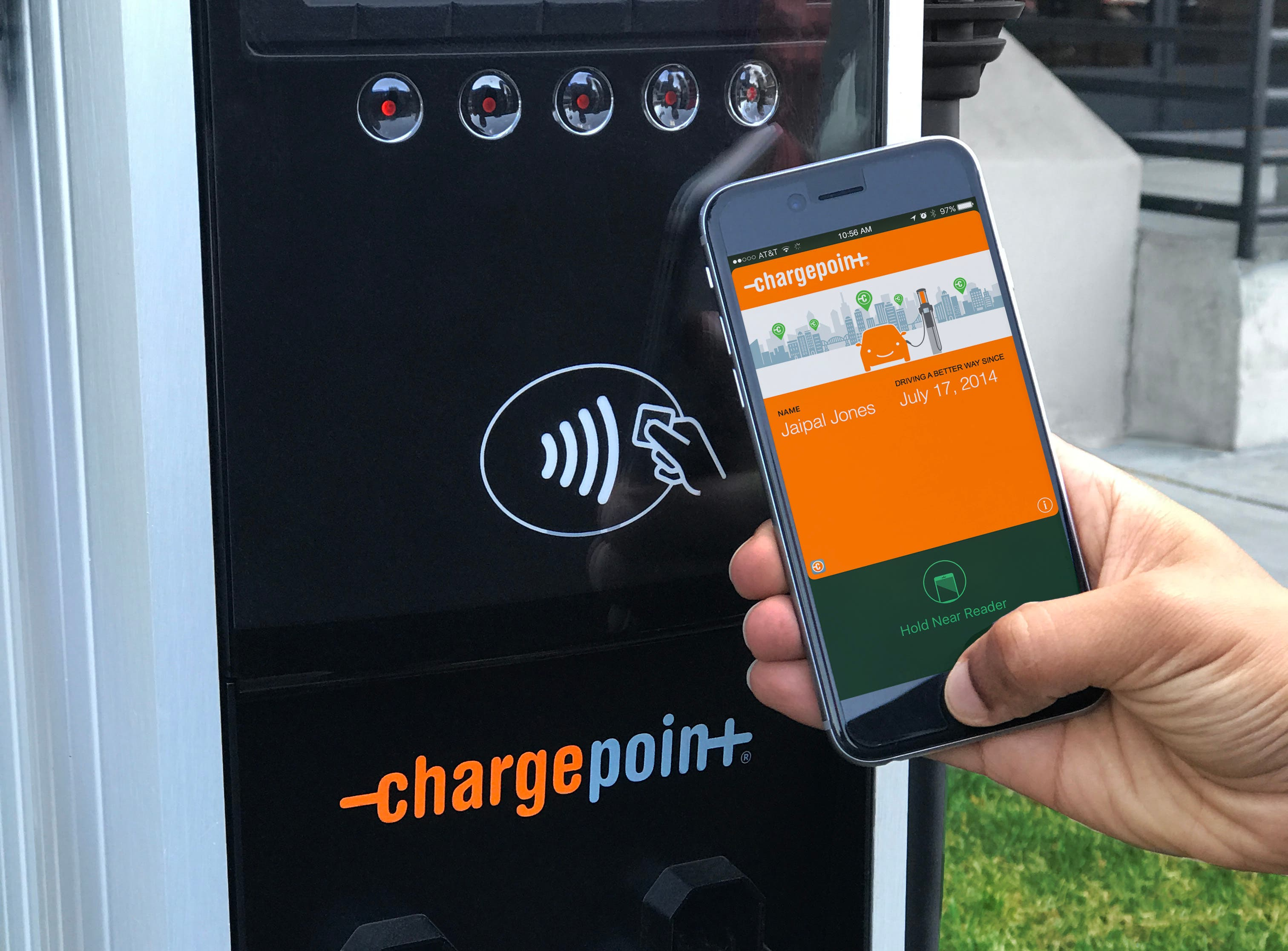 photo of Electrify America & ChargePoint Enter Into Roaming Agreement image