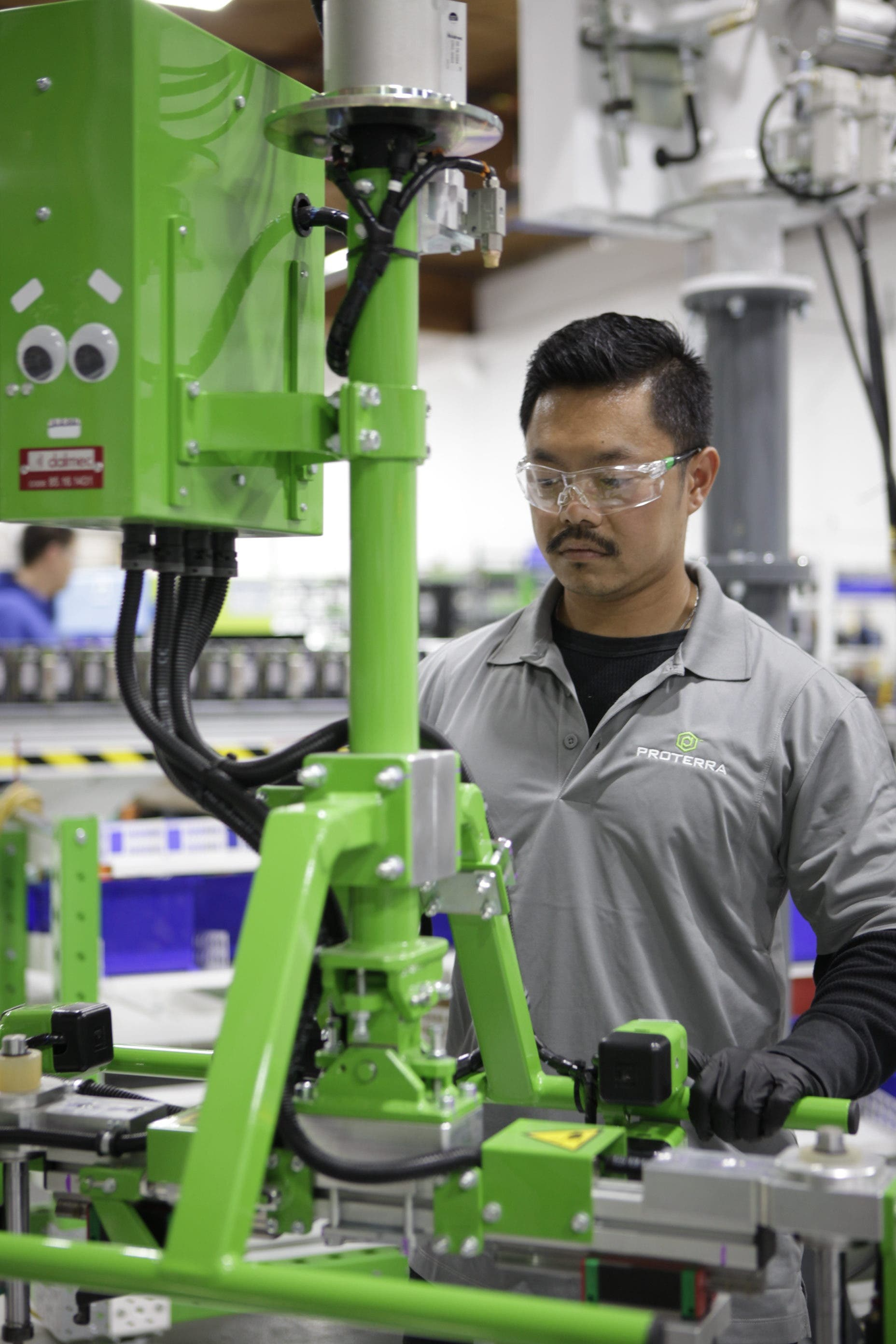 Proterra LG Chem Battery Cell Electric Bus Factory California