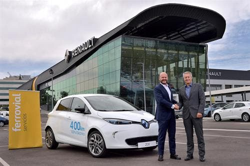 Renault & Ferrovial Create New Carsharing Service In Madrid — Zity