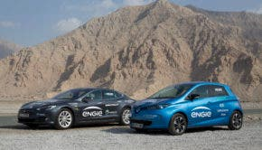 Electric Vehicle Road Trip Middle East
