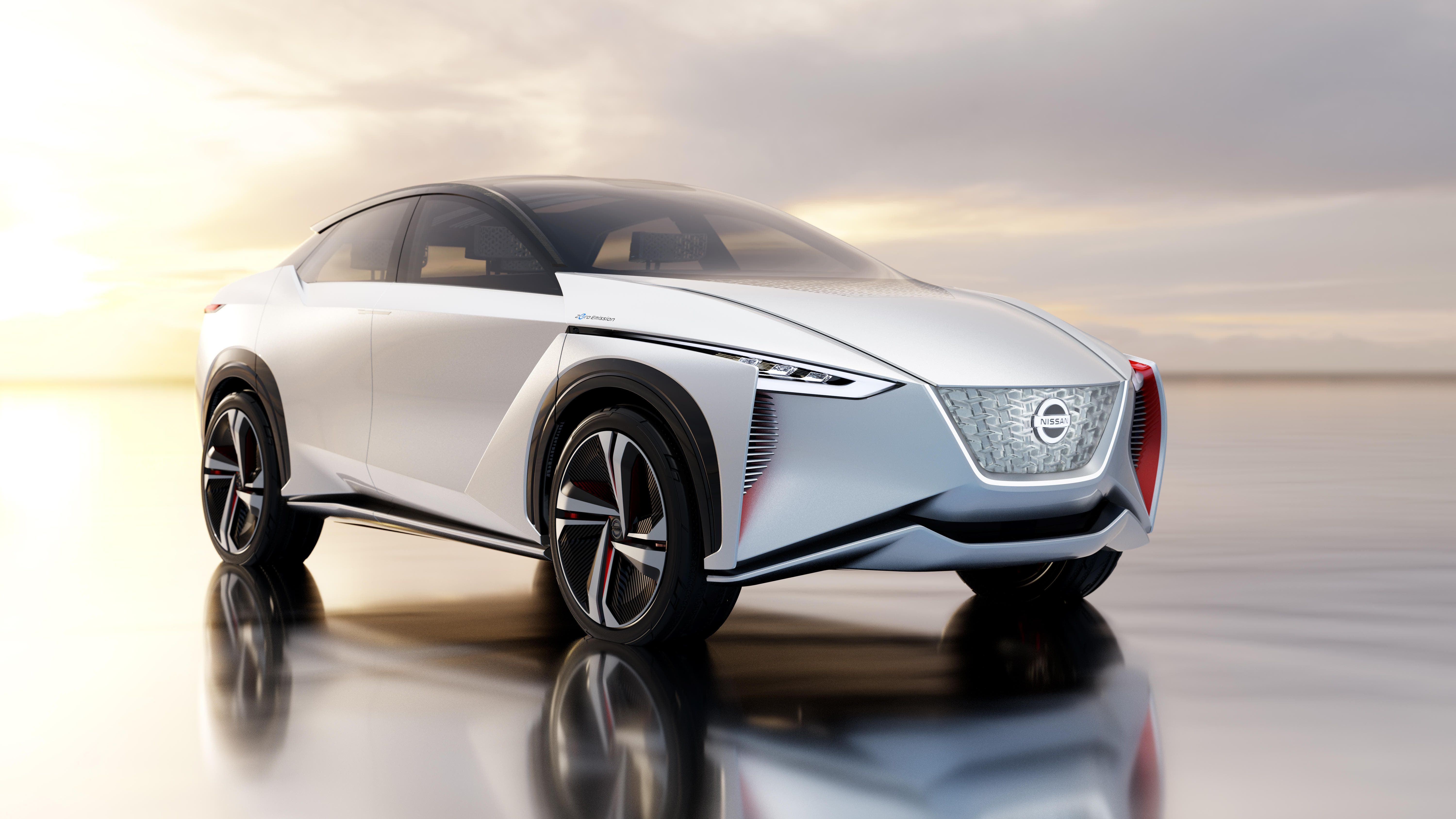 nissan imx electric suv concept is more than a grown up leaf cleantechnica. Black Bedroom Furniture Sets. Home Design Ideas
