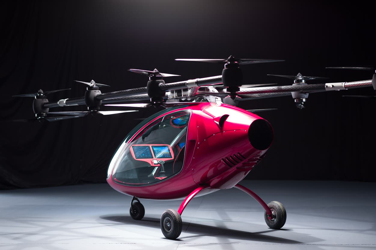 VTOL Personal Drone, Carrying People One (Or Two) At A Time