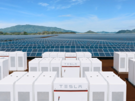 Tesla solar power plant Hawaii