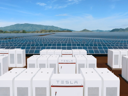 Tesla Plans To Triple Energy Storage Business This Year