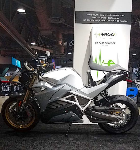 Long Beach Motorcycle Show 2017 Energica