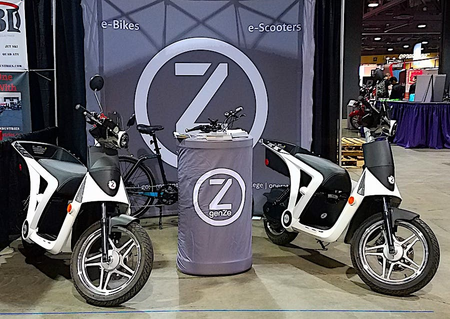 Long Beach Motorcycle Show 2017 GenZe