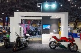Long Beach Motorcycle Show 2017 Energica Booth