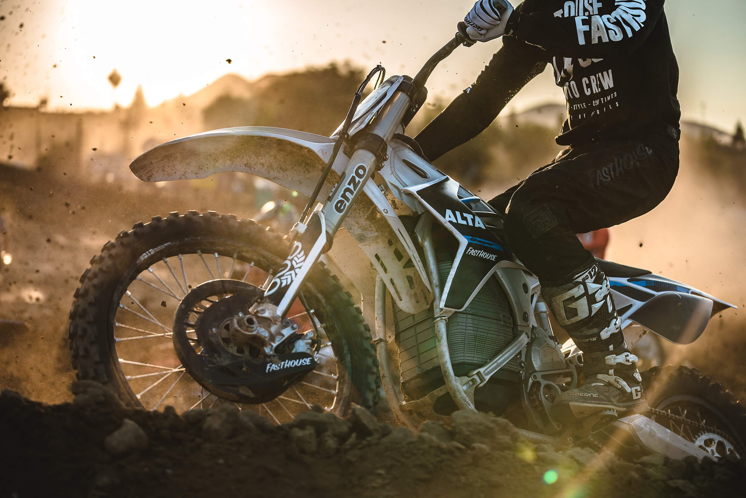 Alta Motor Wins Geneva Supercross