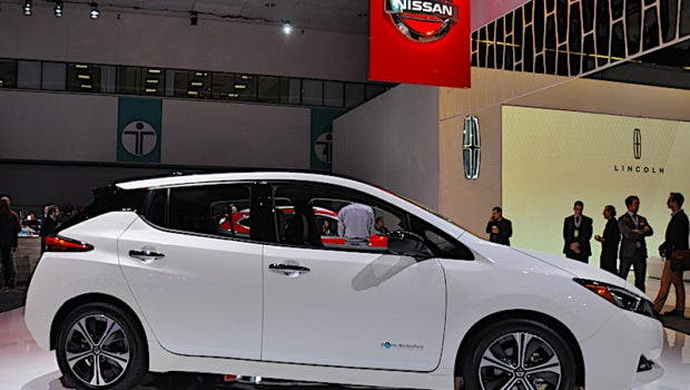 Highlight the New Nissan LEAF
