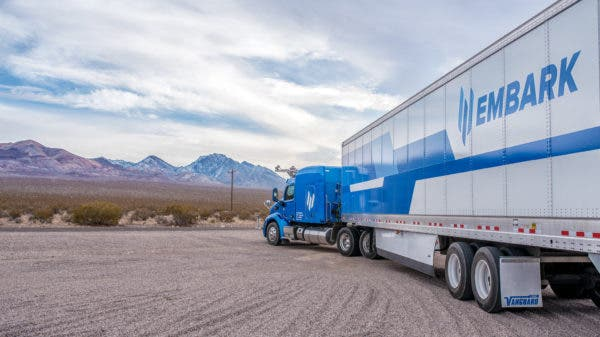 Embark Hauls Frigidaire On Semi-Autonomous Trucks
