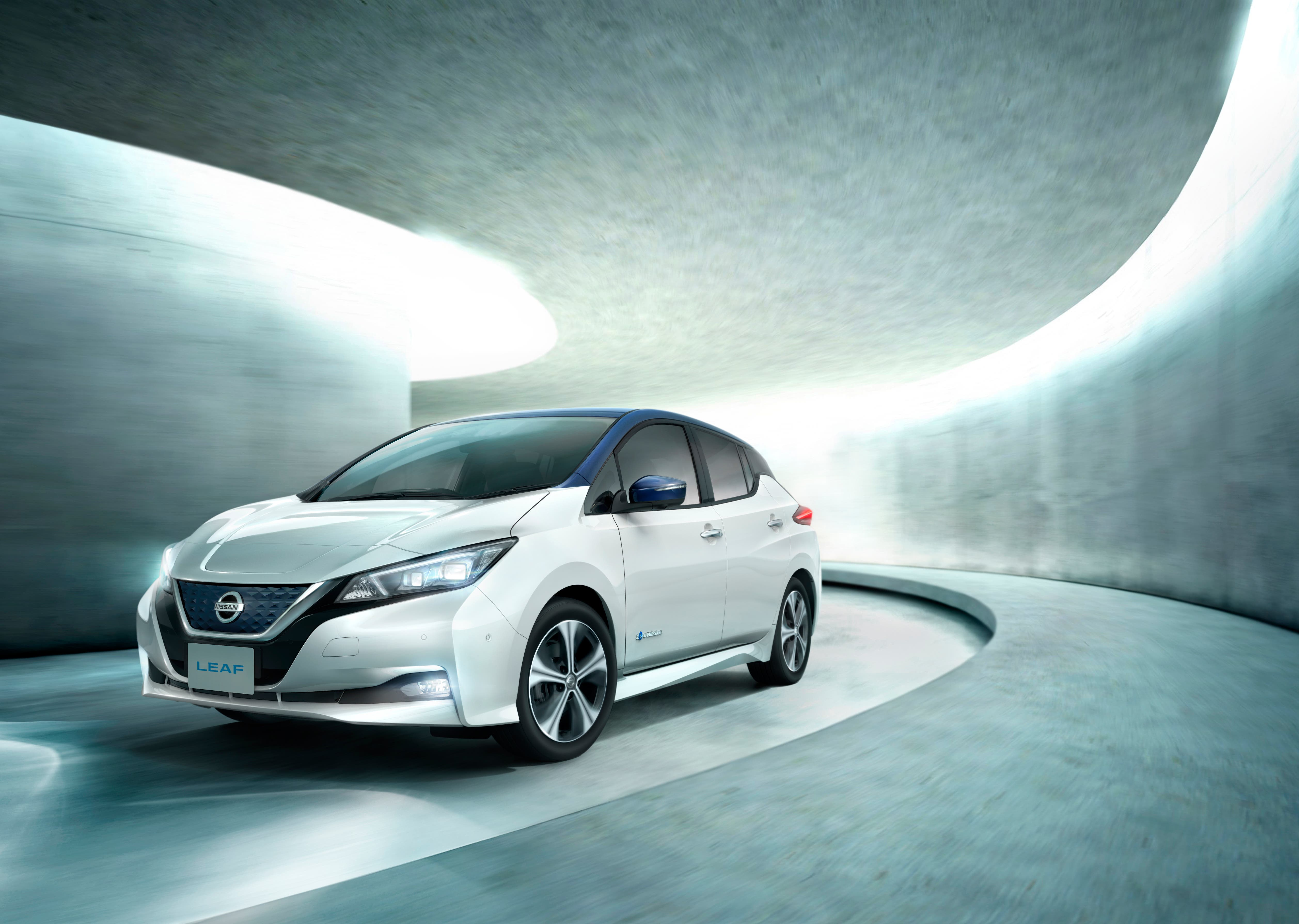 The New Nissan Leaf Is On In An And Will Be Arriving At Dealers U S Canada Over Next Two Months
