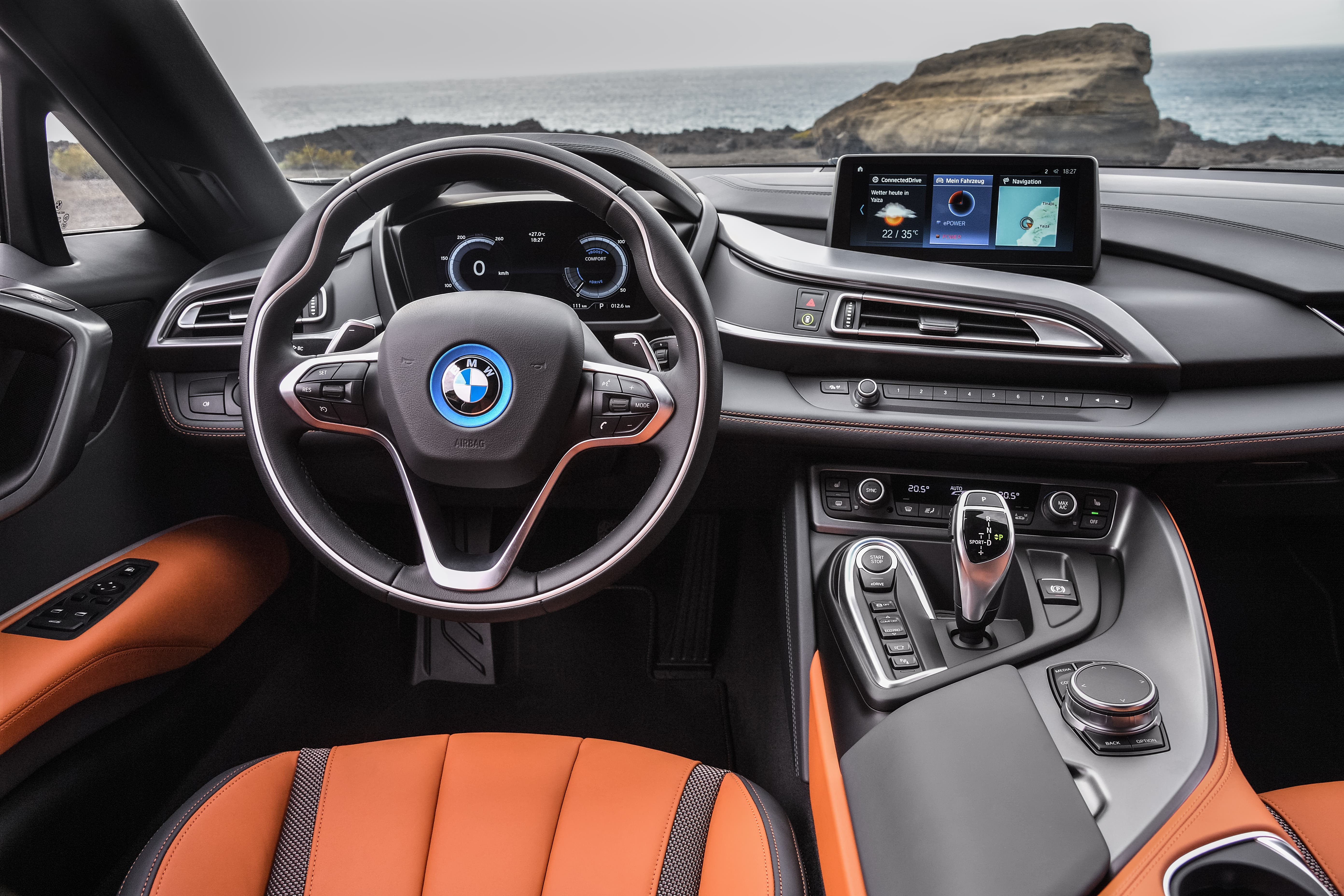 BMW Brings New i8 Roadster For 2018 To The Los Angeles Auto Show