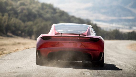 Tesla Roadster test drive