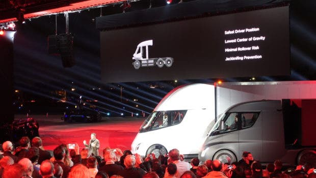 "J.B. Hunt Transport Services Places Order For ""Multiple"" Tesla Semi Trucks 