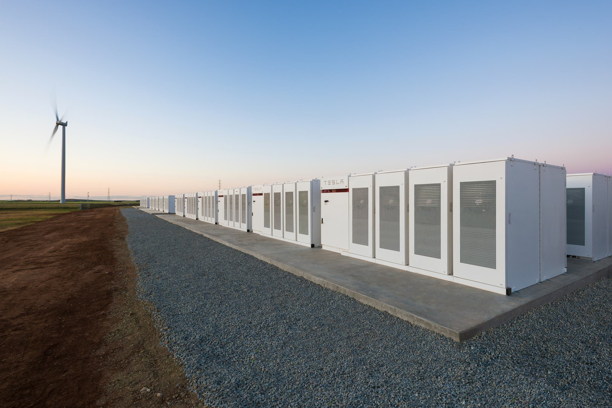 Tesla battery in South Australia