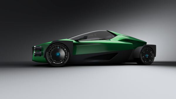 The Electric Supercar XING Mobility