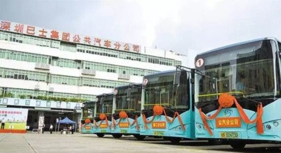 electric bus Shinzen China