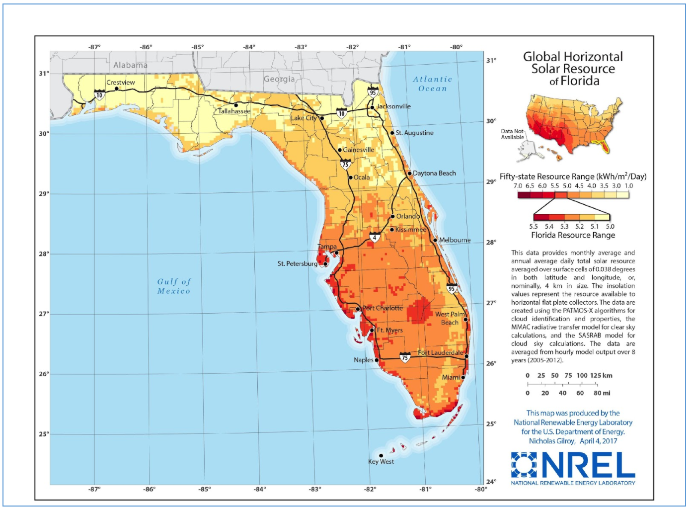 Solar Energy in the Sunshine State — Rooftop Solar Promise & Threats