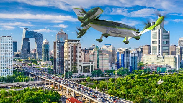 Lindbergh VerdeGo Aero flying taxi AirVenture Lindbergh Innovation Forum Set