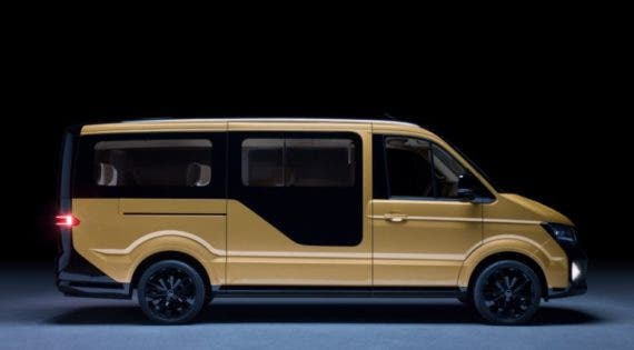 MOIA electric ride sharing van