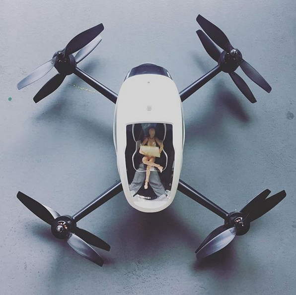 The Ehang 184 Passenger Drone Wants To Take You Into The Air
