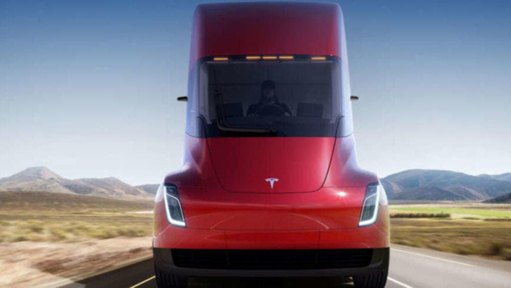 City Furniture Pre-Orders 5 Tesla Semis