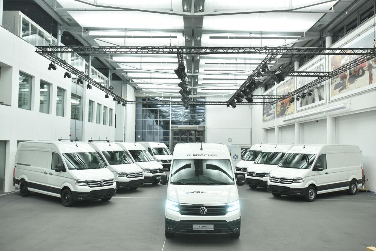 Volkswagen Delivers First E Crafter Vans To Customers In Europe