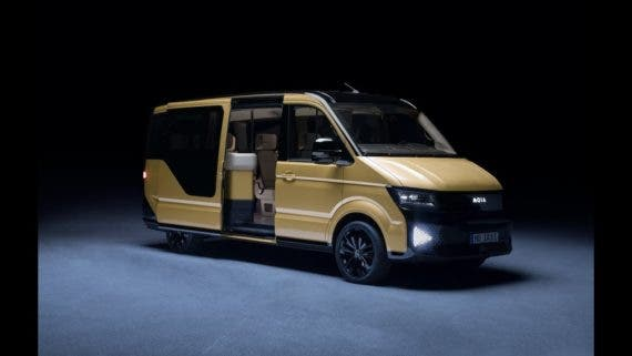 Volkswagen T6 electric shuttle for Apple