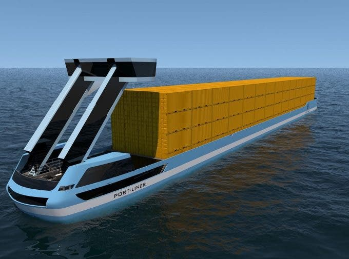 photo image Dutch Company Introduces Autonomous Electric Barge In Europe