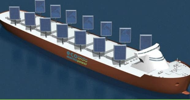 renewable energy for cargo ships