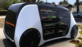 Robomart self-driving grocery