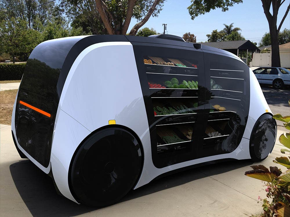 Why Not Use Autonomous Vehicles For Self-Driving Stores?