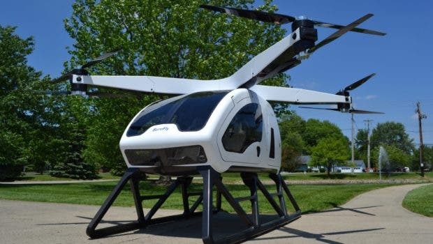 SureFly Electric Hybrid Helicopter