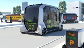 Toyota e-Palette autonomous pod
