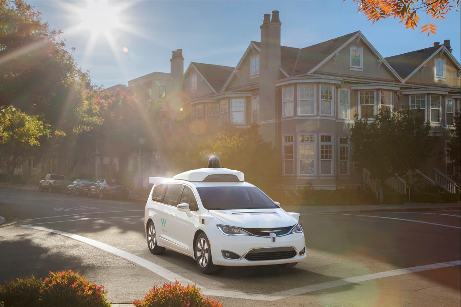 Waymo Chrysler Pacifica autonomous car