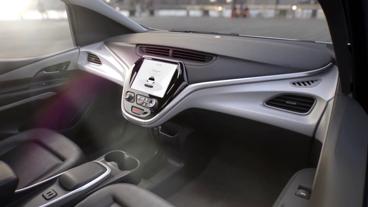 Pic + Video — Inside Fully Autonomous GM/Cruise Taxi ...