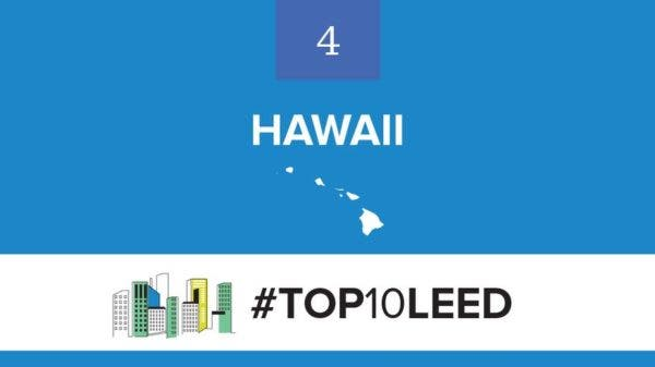 Top 10 States for LEED Green Building
