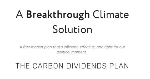 carbon dividends plan