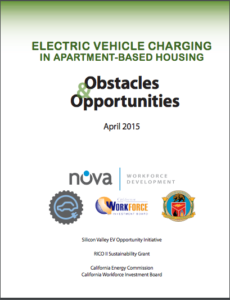 EV Charging in Apartment-Based Housing - Opportuniites & Obstacles - 2015