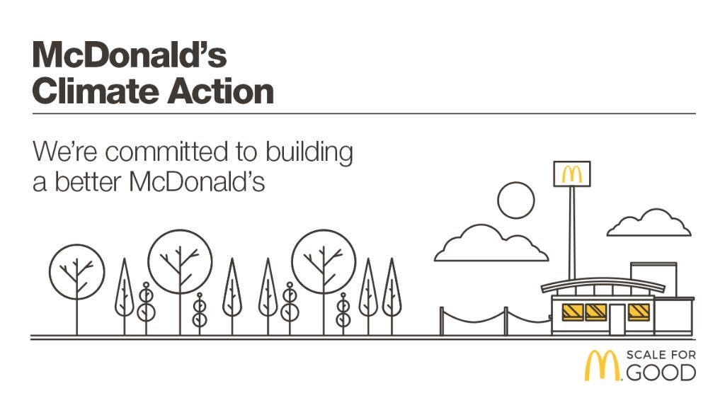 McDonald's Becomes First Restaurant Chain To Set Science-Based GHG
