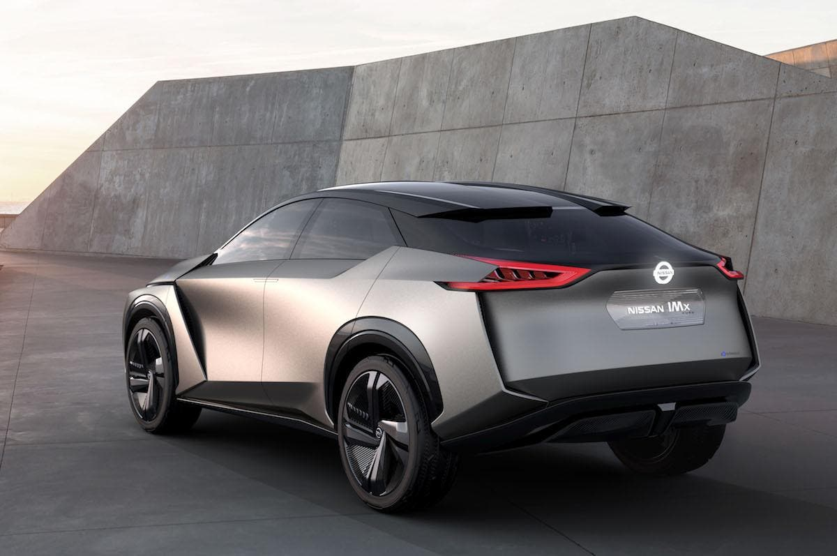 Nissan Finally Gets Sporty Oks Electric Suv Concept For Production