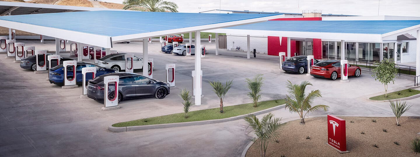 For Tesla End-To-End Charging, There's Supercharging