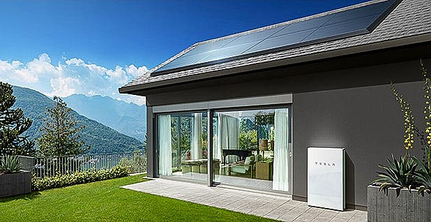 Tesla Powerwall renewable energy Green Mountain Power