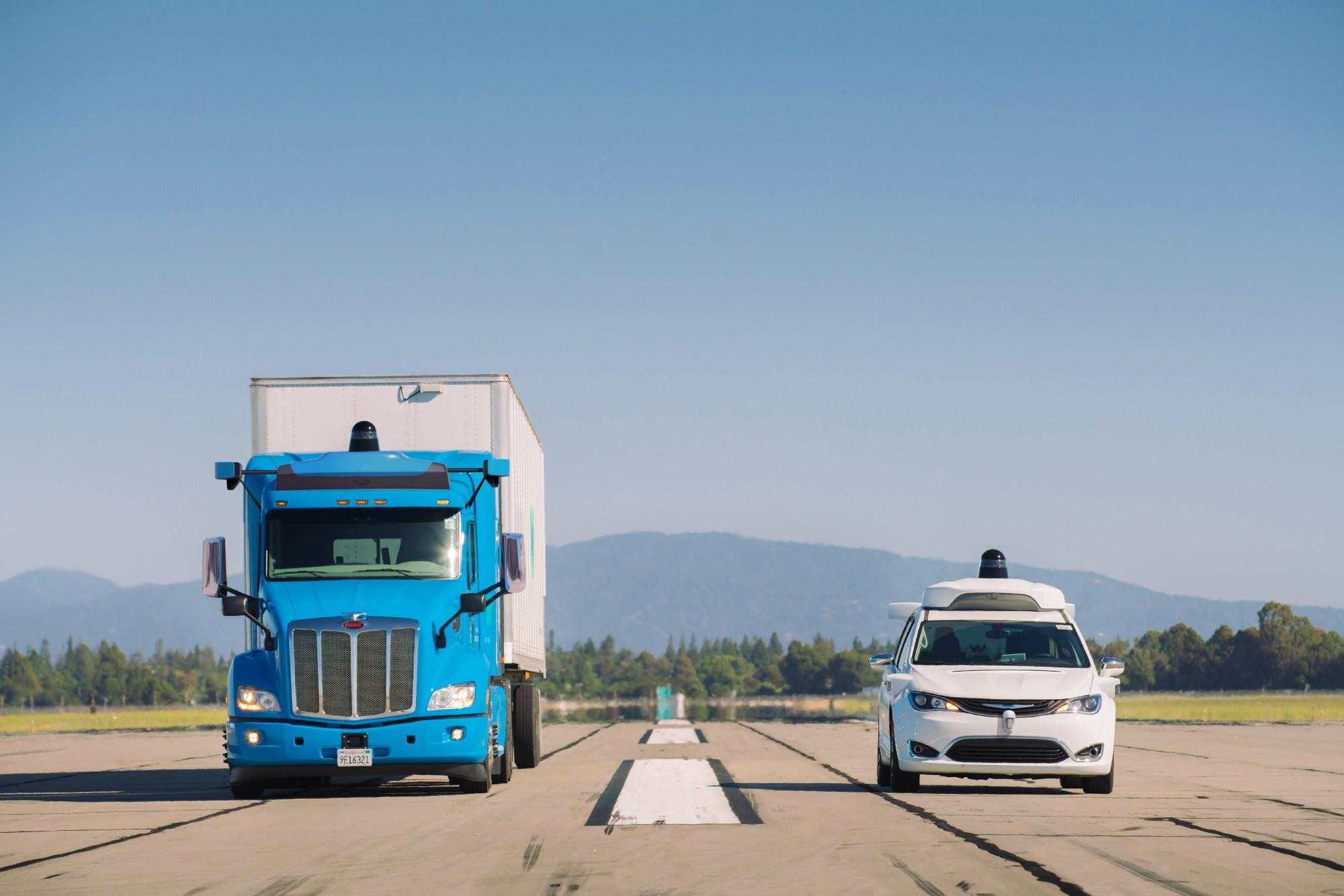 Waymo Self-Driving Trucks Hit Texas